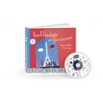 Joyvox - Ballades enfantines, livre CD
