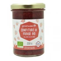 Greenweez - Confiture fraises bio 65% 230g