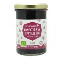 Greenweez - Confiture myrtilles bio 65% 230g