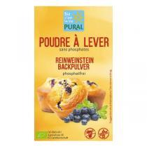 Pural - Poudre à lever sans phosphates 3x21g