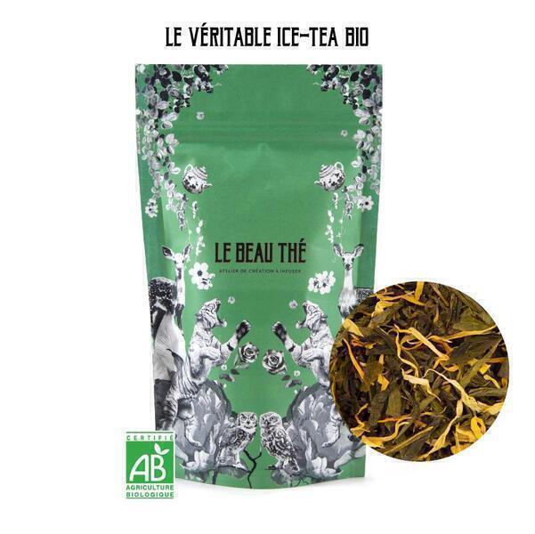 Le Beau Thé - Thé glacé  saveur pêche - caramel 280g