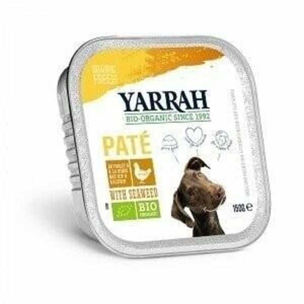 Yarrah - Pâté de poulet aux algues marines, pour chiens