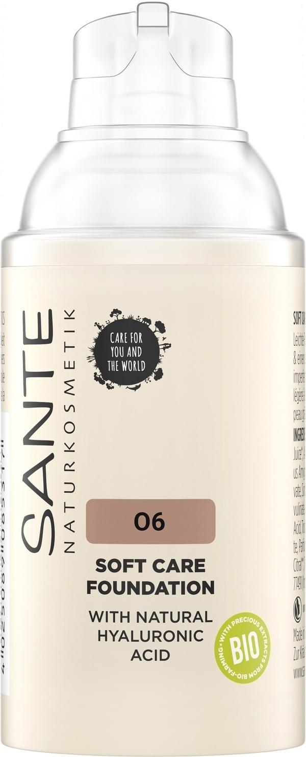 Sante Naturkosmetik - Fond de teint Crème - Neutral Amber 06