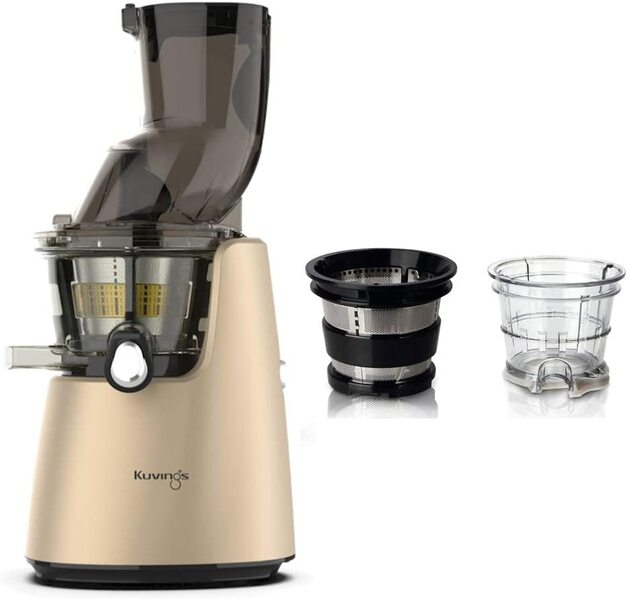 Kuvings - Pack Kuvings D9900 Champagne avec kit sorbets smoothies