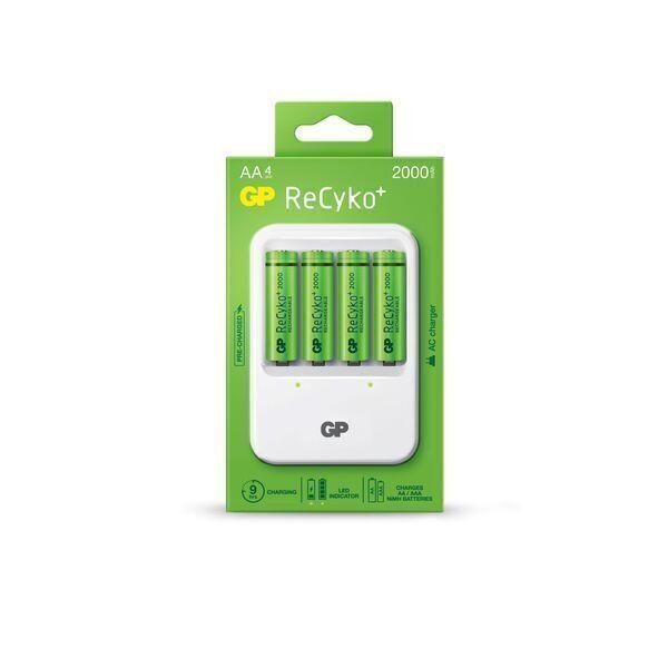 GP Batteries - Chargeur classique GP PB420 + 4 accus AA/LR6 - 2000 mAh