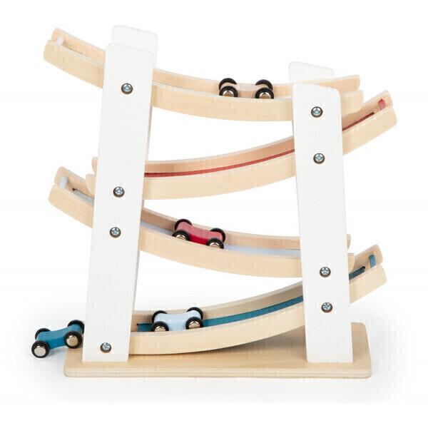 Small Foot - Ce circuit de voiturettes en bois