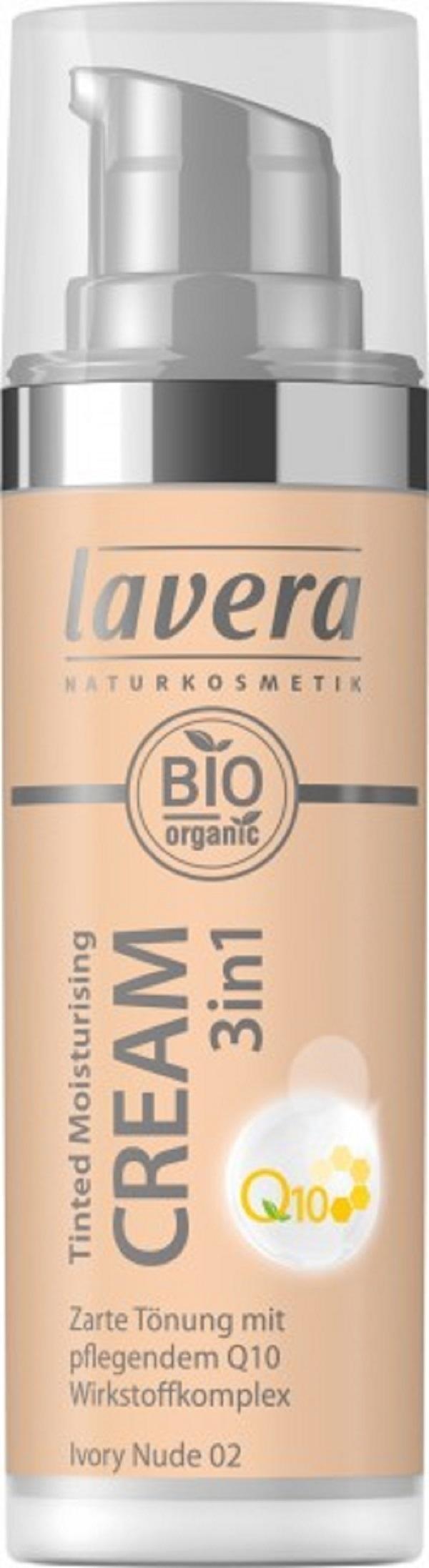 Lavera - Créme hydratante teintée 24h Ivory Nude 02
