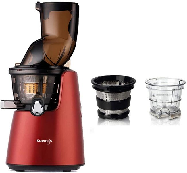 Kuvings - Pack Kuvings D9900 Rouge avec kit sorbets smoothies