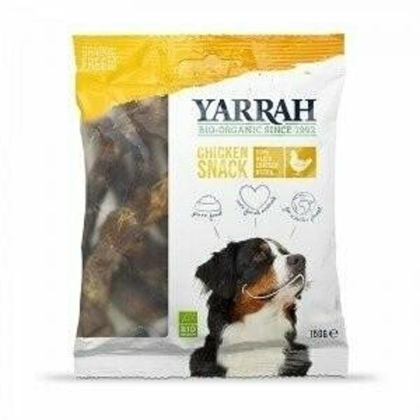 Yarrah - Cous de poulet pour chiens 100% bio