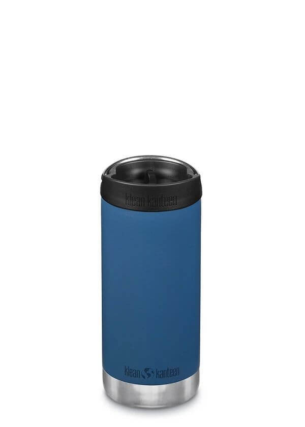 Klean Kanteen - Gourde isotherme inox TKWide café cap - 355ml