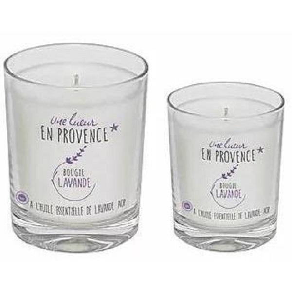 Les Bouquets du Ventoux - Bougie Lavande et Citronnelle - 140 g