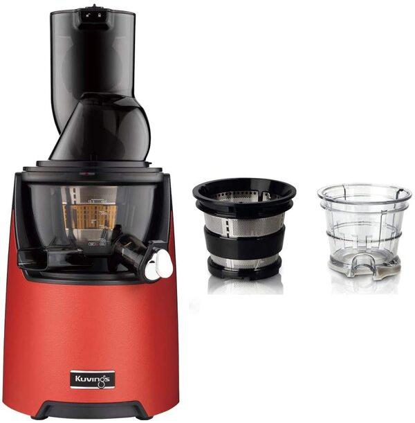 Kuvings - Pack Kuvings EVO820 Rouge avec kit sorbets smoothies