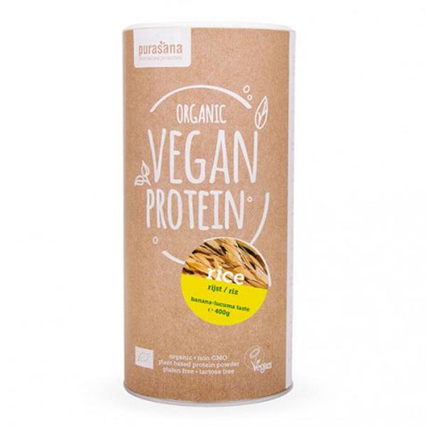 Purasana - Protéines Riz Banane-Lucuma
