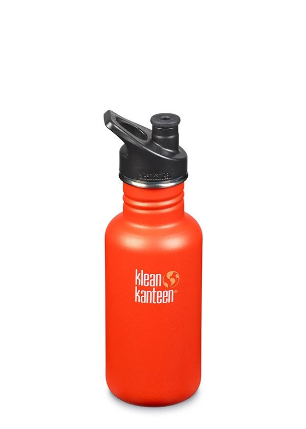Klean Kanteen - Gourde Inox Classique 532 ml Sierra Sunset bouchon sport