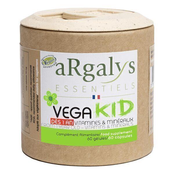 Argalys Essentiels - Vegakid 60 gélules