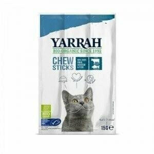 Yarrah - Friandises à mâcher pour chat
