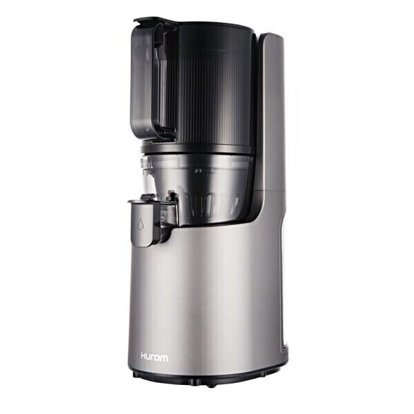 Hurom - Extracteur de jus vertical Hurom H200 - Gris