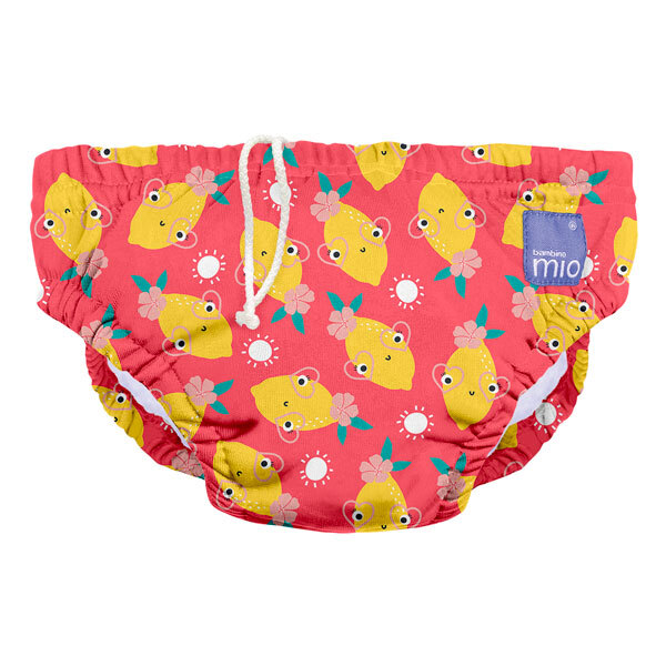 Bambino Mio - Couche de bain lavable Citron frais - Taille M (6-12 mois)