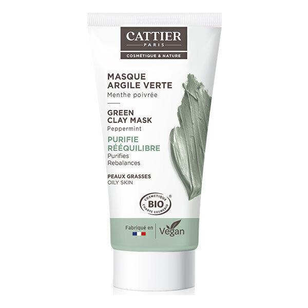 Cattier - Mini masque à l'argile verte 30ml