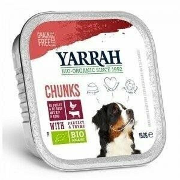 Yarrah - Bouchées de boeuf au persil et au thym, pour chiens
