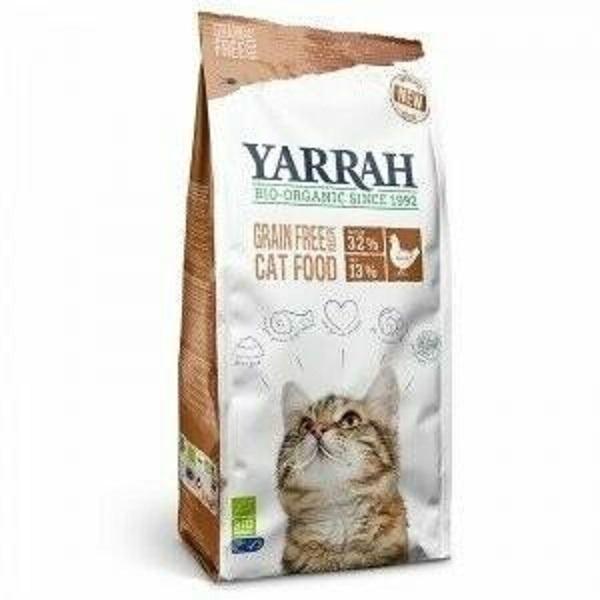 Yarrah - Croquettes biologiques sans céréales pour chat - 800 g