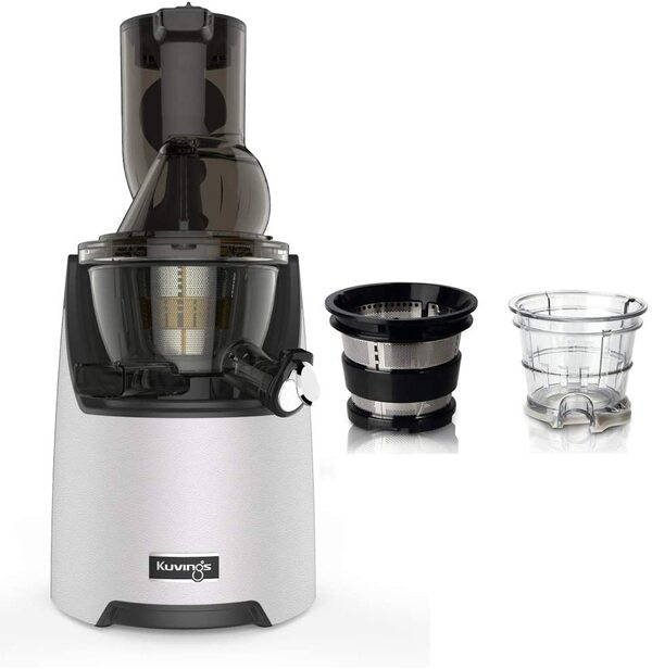 Kuvings - Pack Kuvings EVO820 Blanc avec kit sorbets smoothies