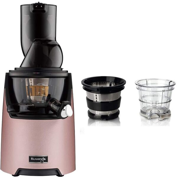 Kuvings - Pack Kuvings EVO820 Rose avec kit sorbets smoothies