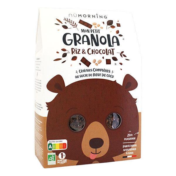 nüMorning - Mon Petit Granola riz et chocolat 300g