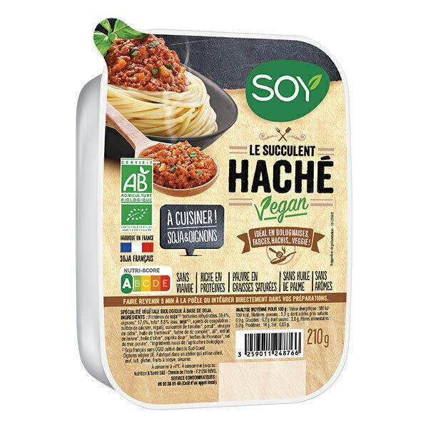 Soy (frais) - Haché vegan 210g