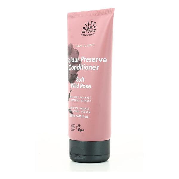 Urtekram - Après-shampoing cheveux colorés à la rose sauvage 180ml