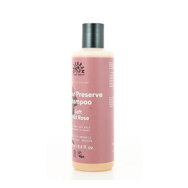 Urtekram - Shampoing cheveux colorés à la rose sauvage 250ml