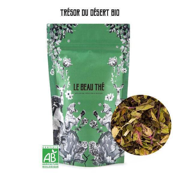 Le Beau Thé - Thé vert aromatisé saveur menthe poivrée 70g