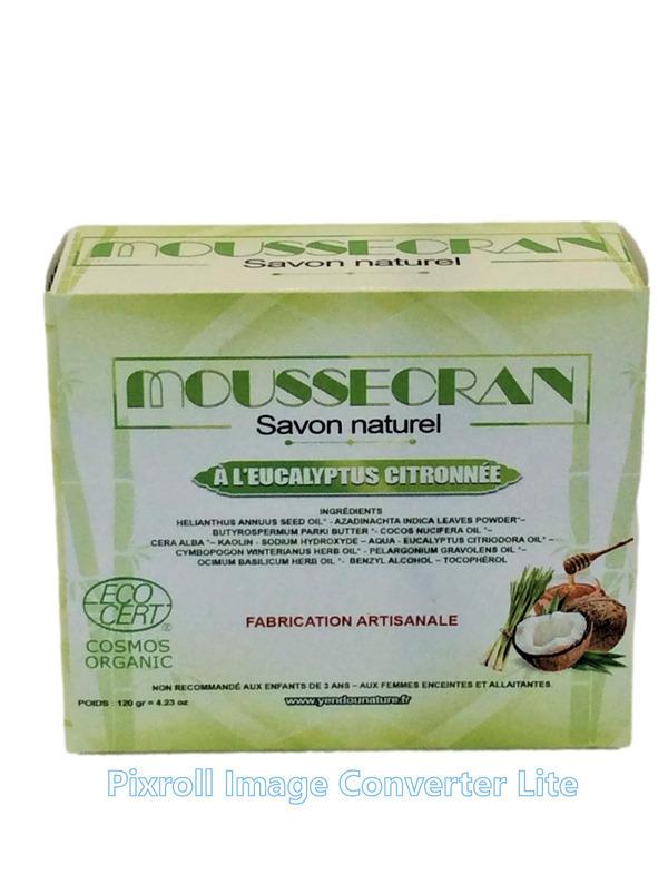Mouss'Ecran - SAVON ANTI-MOUSTIQUES 120 gr.