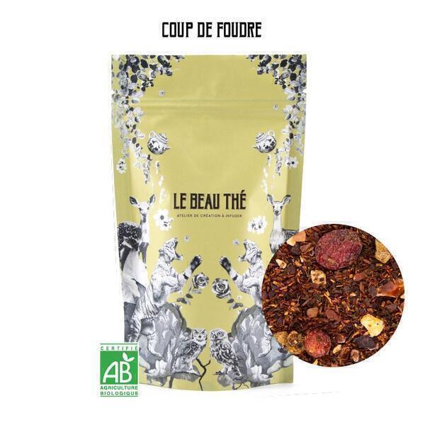Le Beau Thé - Rooibos naturel avec une pointe de cacao et de groseille 100g