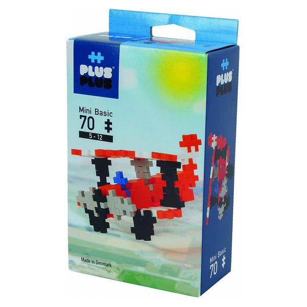 Plus Plus - ++ Box Mini Basic Avion 70 pcs
