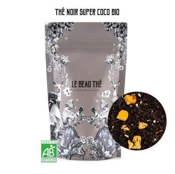 Le Beau Thé - Thé noir aromatisé saveur abricot-coco 490g