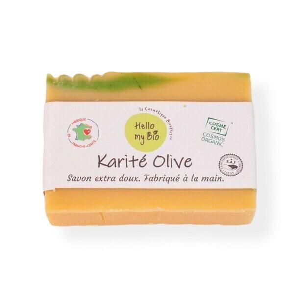 Hello my bio - Savon karité olive surgras 10%