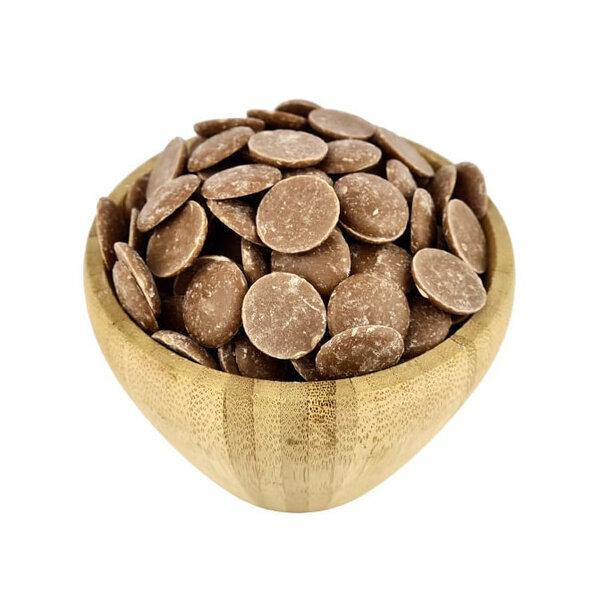 Vracbio - Chocolat au Lait Bio en Pistoles en Vrac 500.0g