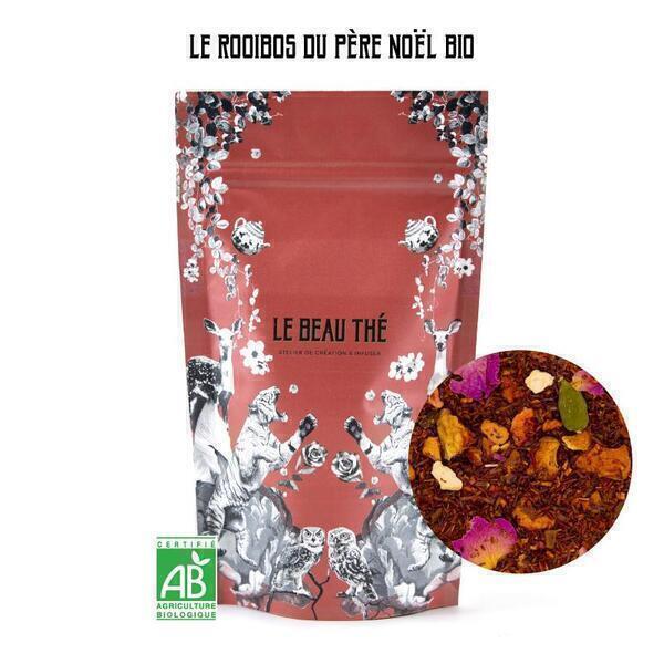 Le Beau Thé - Rooibos aromatisé saveur cannelle-orange 70g