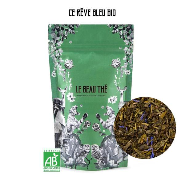 Le Beau Thé - Thé vert aromatisé saveur jasmin 70g