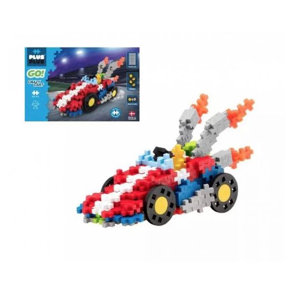 Plus Plus - ++ Go Karting 240 pieces.