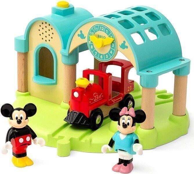 Brio - Gare à enregistreur vocal Mickey Mouse