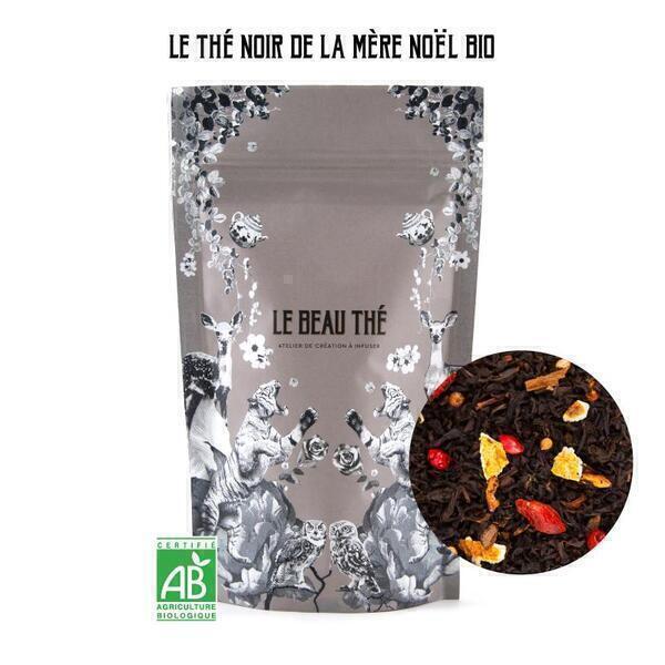 Le Beau Thé - Thé noir aromatisé saveur pomme-cannelle 70g