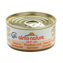 Almo nature - Pâté Chat - Thon Crevettes Classic 70g