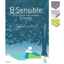 B-Sensible - Waterproof Fitted Sheet 80 + 80 x 190cm