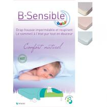 B-Sensible - Waterproof Fitted Sheet 80 x 50cm