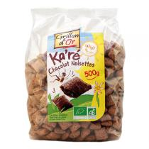Grillon d'or - Organic Choco-Nut Squares Cereal 500g