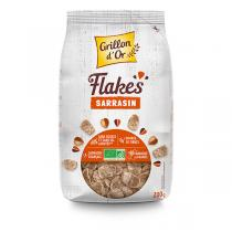 Grillon d'or - Flakes de sarrasin nature 200g