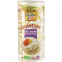 Grillon d'or - Organic Wholegrain Rice Cakes 130g