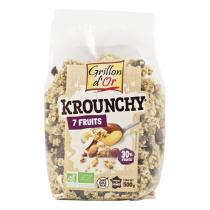 Grillon d'or - Krounchy 7 Fruits 500g